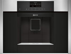 Neff C15KS61N0 Einbau-Kaffeevollautomat schwarz, Edelstahl