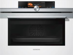 Siemens Kompaktdampfbackofen CS658GRW1 weiß