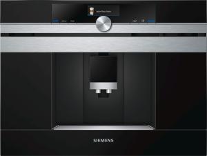 Siemens CT636LES1 Einbaukaffeevollautomat 45cm schwarz/Edelstahl
