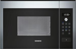 Siemens HF15M564 Einbaumikrowelle Edelstahl zum Einbau in 60cm Oberschrank oder Hochschrank Nische 38cm