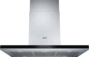 Siemens Inselesse LF98BA572Edelstahl 90 cmA+ Intensivstufe870 cbm/h LED-Beleuchtung