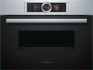Bosch CMG636BS1 Edelstahl Kompaktbackofen mit Mikrowelle