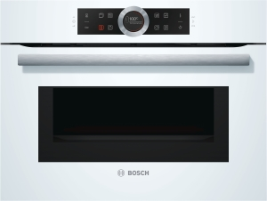 Bosch CMG633BW1 Kompaktbackofen mit Mikrowelle 45cm weiß