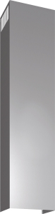 Bosch DHZ1233 Kaminverlängerung 1500 mm Edelstahl Dunstabzugshauben-Zubehör