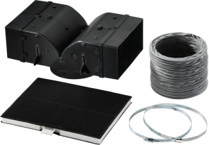 Bosch DHZ5385 Starterset UmluftbetriebDunstabzugshauben-Zubehör