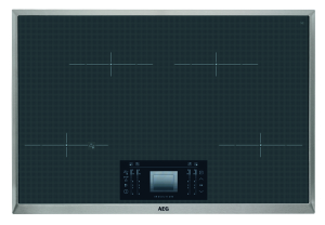 AEG HKM89400XG 4-fach Induktionskochfeld 80cm ProFry-Sensor Edelstahlrahmen
