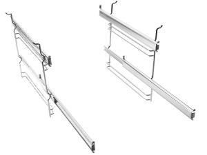Gorenje - 242177 2-Fach-Teleskopauszüge