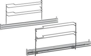 Bosch HEZ638178Teleskop-Vollauszug 1fach, 45cm, pyroHerde/Backöfen-Zubehör