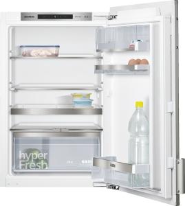 Siemens - KF21RAF30  mit weißer Türfront und Alu Dekorrahmen  Einbau-Kühlschrank ohne Gefrierfach 88cm
