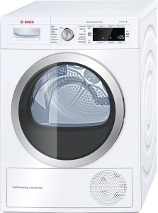Bosch WTW8756A A++, 8kg, SelfCleaning Condenser,Wärmepumpen-Wäschetrockner 14Programme