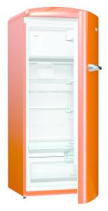 Gorenje ORB153 O Standkühlschrank 154cm m.Gefrierfach juicy orange A+++