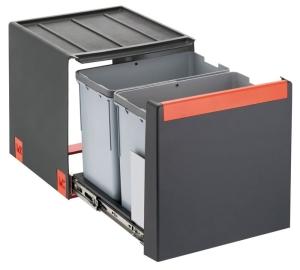 Franke Cube 40, 2 x 14 l , Handauszug 134.0039.330