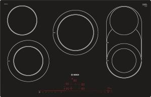 Bosch PKM801DP1D Elektro-Kochfreld 80cm flächenbündig