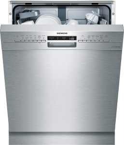 Siemens SN436S00GD »Extraklasse« Unterbaugerät - Edelstahl Geschirrspüler 60 cm Inkl. Sockelblech