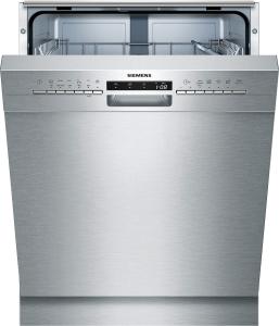 Siemens SN436S01GE Unterbau - Geschirrspüler 60 cm Edelstahl Inkl. Sockelblech 46dB 6Programme A++