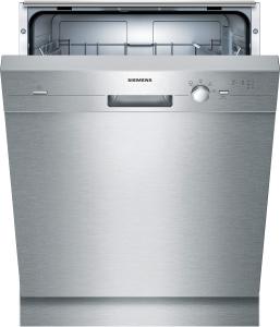 Siemens SN414S00AE Unterbaugerät - Edelstahl speedMatic Geschirrspüler 60 cm Inkl. Sockelblech