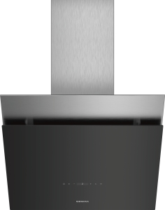 LC68KPP60 Schwarz mit Glasschirm Wand-Esse, 60 cm