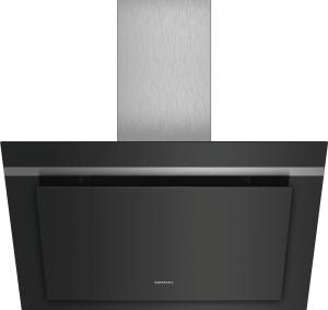LC87KHM60Wandesse 80cm schwarz mit Glasschirm Intensivstufe 680cm³/h LED FFK:A