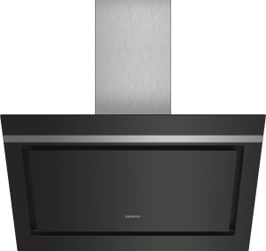 LC87KIM60 Schwarz mit Glasschirm Wand-Esse, 80 cm