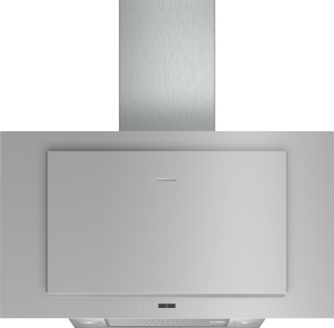 Siemens LC97FLP10 silber mit Glasschirm Wand-Esse, 90 cm 730m³/h LED Vertikal-Design
