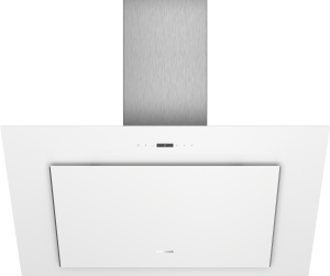 LC98KLP20 Weiß mit Glasschirm Wand-Esse, 90 cm