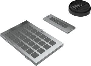Siemens LZ10AKR00 Sonderzubehör Für UmluftbetriebBestehend aus mehrfach regenerierbaren Aktivkohlefilter (2 Stück) und einem Diffusor für kaminlosen Betrieb
