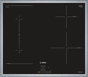 NWP645CB2M EXCLUSIV (MK)Edelstahl, umlaufender Rahmen 60 cm Induktions-Kochfeld Glaskeramik