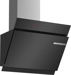 DWK67JQ60Wandesse, 60 cm Schräg-Essen-Design schwarz 730cbm/h LED-Modul PerfectAir