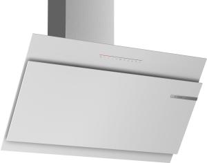 Bosch DWK97JR20Wandesse, 90 cm Schräg-Essen-Design weiß 730 cbm/h LED-Modul