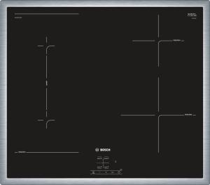NWP645CB2EEdelstahl, umlaufender Rahmen 60 cm Induktions-Kochfeld Glaskeramik