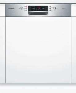 Bosch SMI46GS01ESilence Plus Geschirrspüler 60 cm Integrierbar - Edelstahl