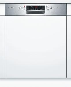Bosch SMI46IS03E SuperSilence Geschirrspüler 60 cm Integrierbar - Edelstahl ExtraTrocknen 44dB
