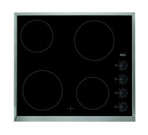 AEG HK614000XB Glaskeramik Kochfeld, Autark, 60cm