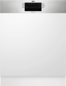 AEG FEB52600ZM Geschirrspüler 60cm integrierbar edelstahl 47dBab 7 L A++