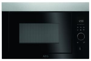 AEG MBE2657D-M Einbau-Mikrowelle 38cm Nischenhöhe für Hochschrank (NICHT für Hängeschränke) geeignet!