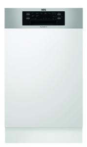 AEG FEE63400PM Geschirrspüler 45cm integrierbar edelstahl 42dB A+++