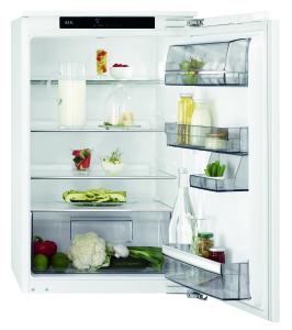 AEG SKE88831AF Einbaukühlschrank ohne Gefrierfach, 88cm Nischenhöhe, Festtür-Technik A+++