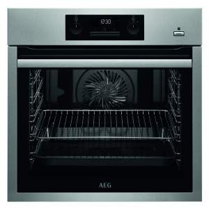 AEG BPS35112XM Backofen 60 cm hoch Pyroluxe-Plus, SteamBake