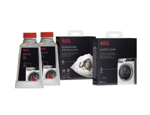 aeg a6wkp1001 waschmaschinen pflegeset entkalker. Black Bedroom Furniture Sets. Home Design Ideas