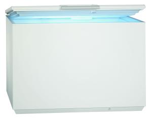 AEG AHB72621LW Gefriertruhe Nutzinhalt 255Ltr.Low-Frost LED-Bel. A++ 3Körbe