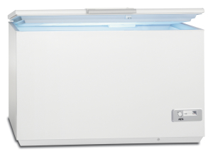 AEG AHB93331LW Gefriertruhe 327Ltr.Nutzinhalt 86,8x161,1x66,7cm 4Körbe LED-Bel. A+++