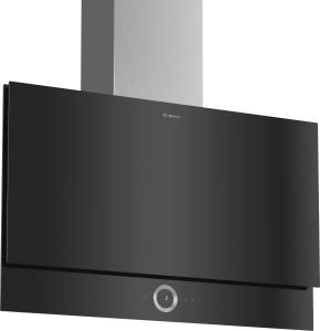DWF97RU60 Wandesse, 90 cm schwarz Flach-Design730 cbm/h LED-Modul