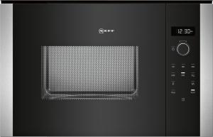 HWB53 (HLAWD53N0) Einbau-Mikrowelle schwarz für 60cm breite u.38cm hoheHochschränke