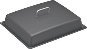 Neff Z11CL15E0 Deckel für Profipfanne, emailliert, grau