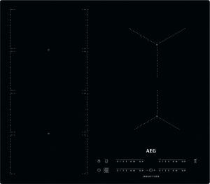 AEG IKE64471IB Kochfeld Induktion 60 cm 2-fach MaxiSense Plusflächenbündig
