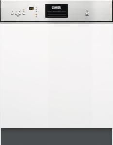 Zanussi ZDI26022XA Geschirrspüler 60 cm integrierbar EdelstahlEEK:A++ab 9,9l47 dB