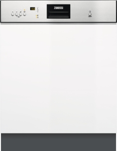 Zanussi ZDI26040XA Geschirrspüler 60 cm integrierbar EdelstahlEEK: A+++ab 9,9l46 dB