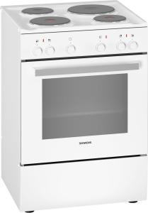 Siemens HQ5P00020 Standherd 60 cm weiß Gußkochplatten 5 Heizarten EEK: A