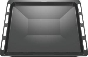 HEZ431002 Backblech, emailliert, grau