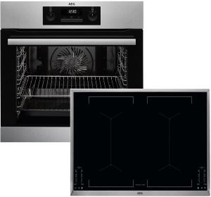 BPB335-1 ( BPB331020M + IKE 74451 XB + TR1LFV ) Backofenset LCD-Display8 Heizarten